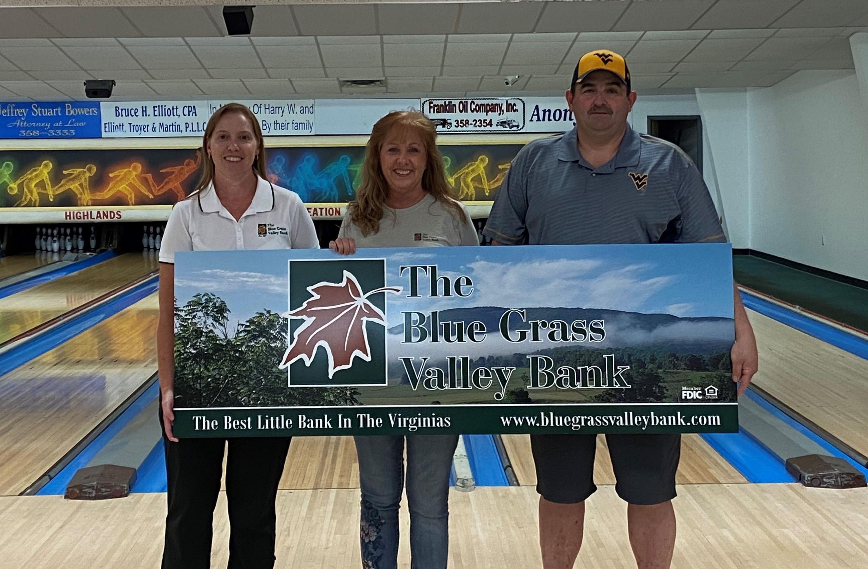 Bowling Alley Lane Sponsorship Sign presentment