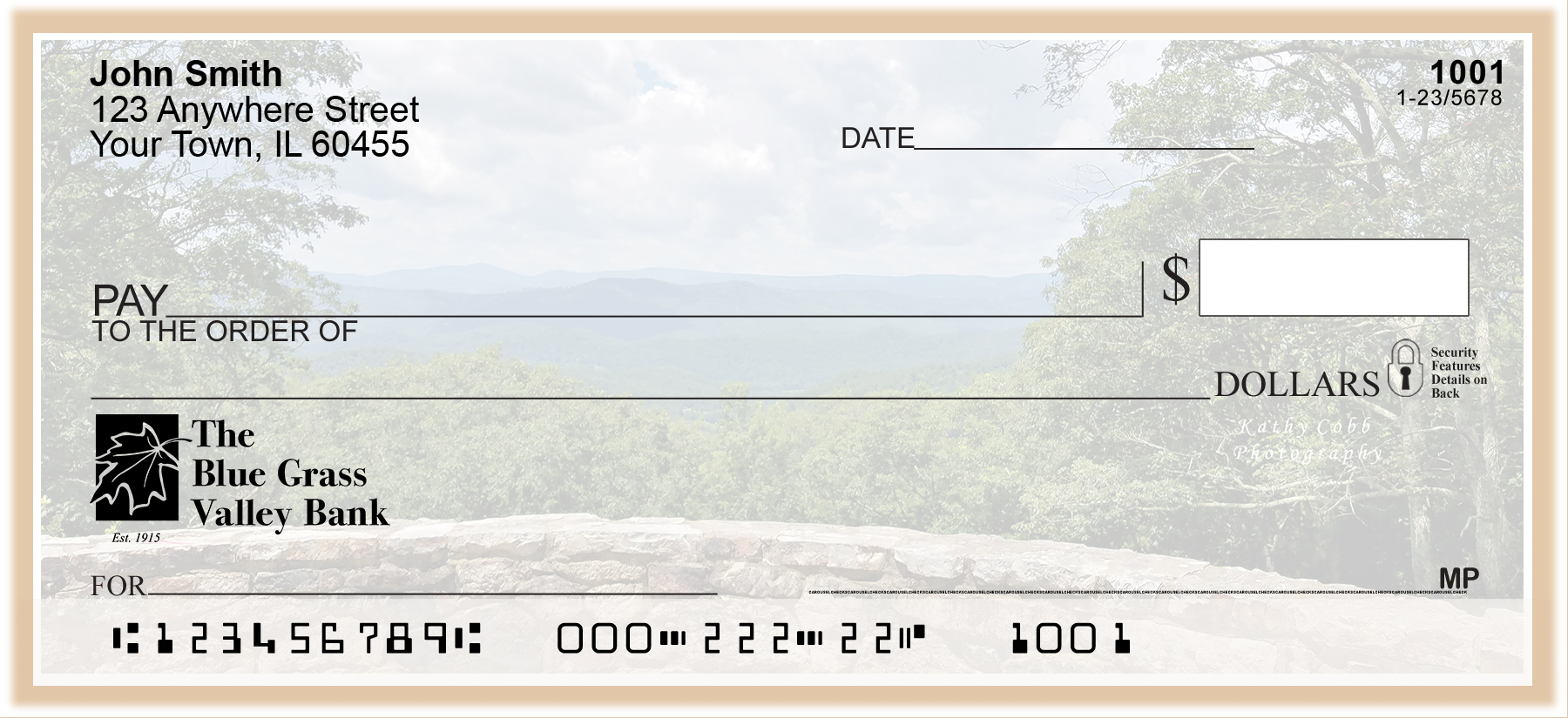 Shenandoah mountain check