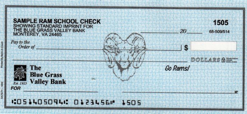 highland rams school check